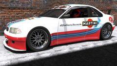 BMW GTR M3 Martini