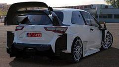Toyota Yaris WRC test