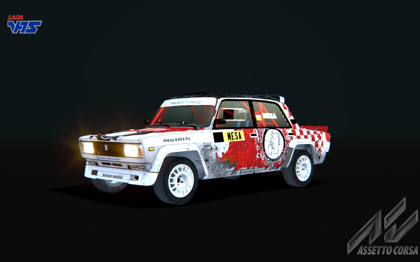 LADA VFTS mod for Assetto Corsa