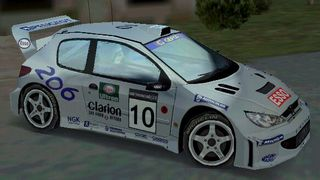 Peugeot 206 WRC for CM Rally 2